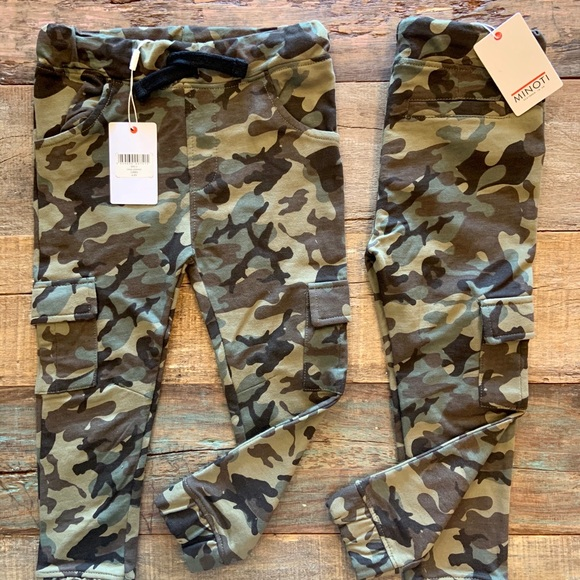 New -Kids  Camouflage Unisex Cargo Joggers pants